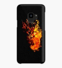 I Will Burn You - Text Edition Case/Skin for Samsung Galaxy