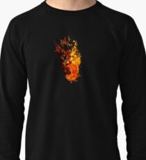 I Will Burn You - Text Edition Lightweight Sweatshirt