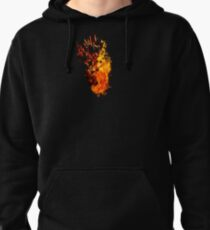 I Will Burn You - Text Edition Pullover Hoodie