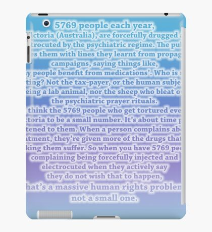 Not a small one iPad Case/Skin