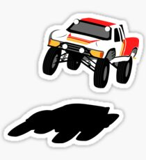 Super Iron Off Road Stadium Truck Toyota Like Man  Sticker