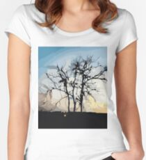 Sunset in Brazil Women's Fitted Scoop T-Shirt