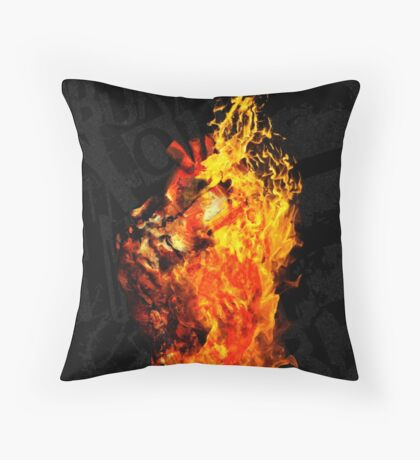 I Will Burn the HEART Out of You Throw Pillow