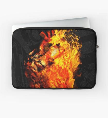 I Will Burn the HEART Out of You Laptop Sleeve