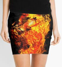 I Will Burn the HEART Out of You Mini Skirt