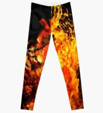 I Will Burn the HEART Out of You Leggings