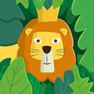 King of the Jungle by cartoonbeing