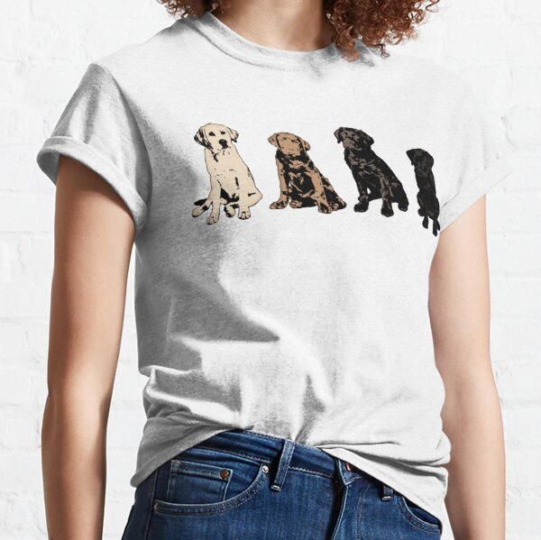 Rainbow of Puppy Love Classic T-Shirt