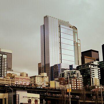 seattle cityscape by thetasigma0