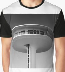 a UFO house in the port of Hamburg Graphic T-Shirt