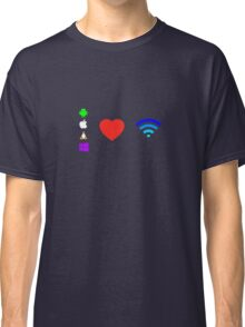 OS love Wifi full color Classic T-Shirt