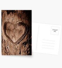 Tree Heart Postcards