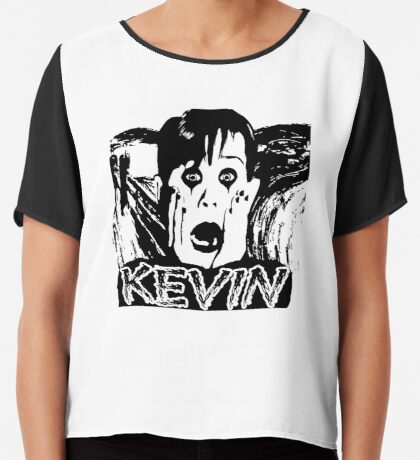 Kevin McCallister Chiffon Top