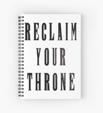 Reclaim Your Throne - Night Spiral Notebook