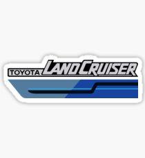 Land Cruiser FJ body graphics series, blue two tone Sticker
