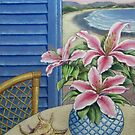 Holiday Lilies by Ann Nightingale
