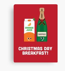 Christmas Character Building - Christmas Day Breakfast 1 Canvas Print