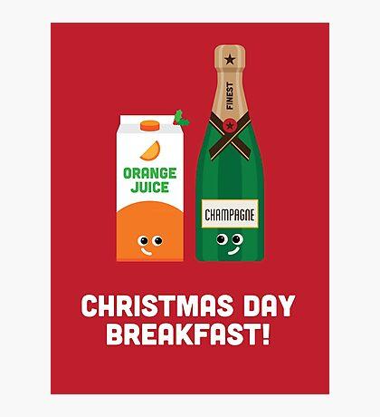 Christmas Character Building - Christmas Day Breakfast 1 Photographic Print