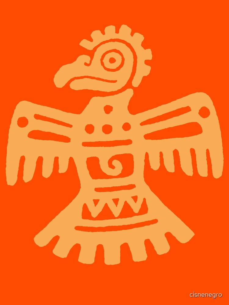 Aztec Eagle by cisnenegro