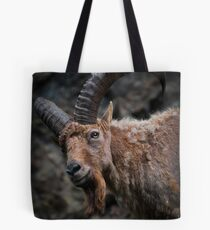 West Caucasian Tur Tote Bag