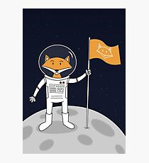 The Fox on the Moon Photographic Print