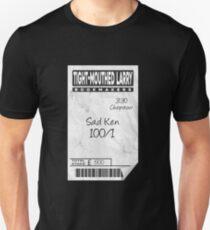 'Sad Ken' Betting Slip Design Unisex T-Shirt