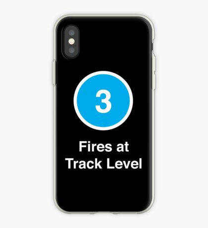 Fires at Track Level iPhone Case