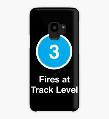 Fires at Track Level Case/Skin for Samsung Galaxy
