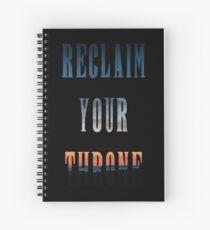 Reclaim Your Throne - Daybreak/black Spiral Notebook