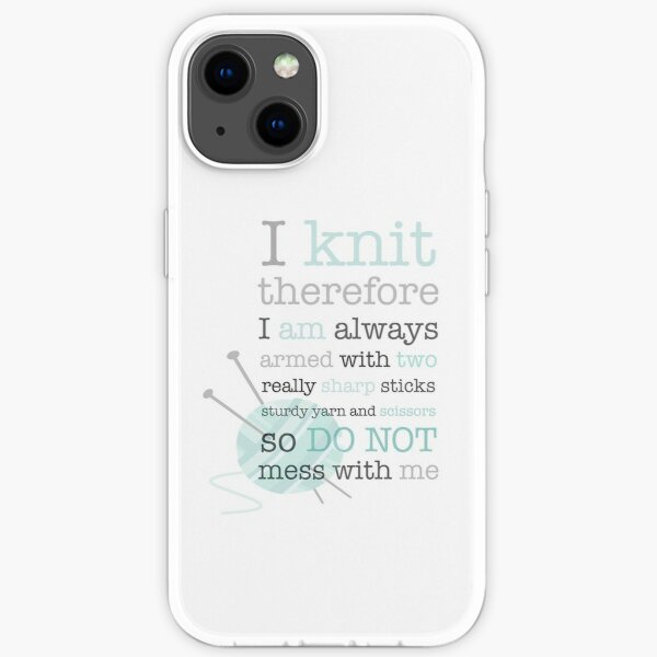 Knitters Dream iPhone Soft Case
