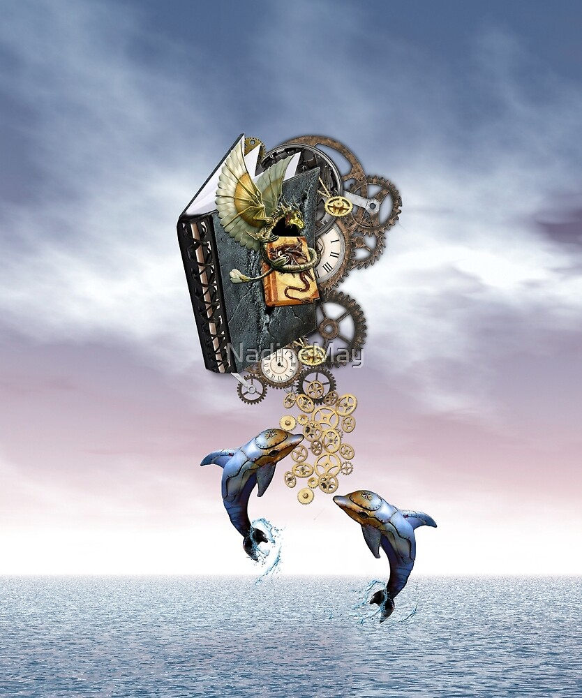 Steampunk Ocean Tale by NadineMay