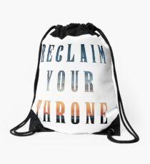 Reclaim Your Throne - Daybreak/white Drawstring Bag