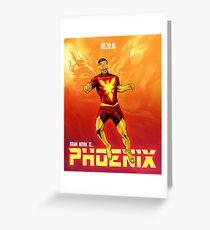 Brian Novak is Phoenix! Greeting Card