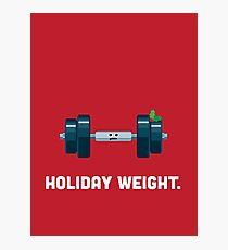 Christmas Character Building - Holiday Weight. Photographic Print