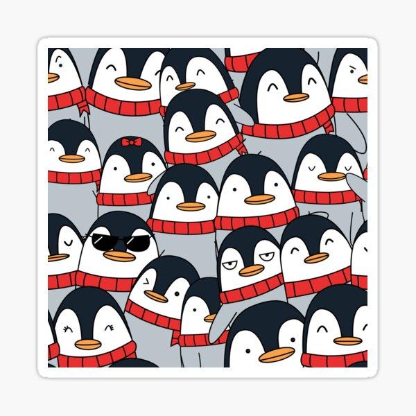 Merry Christmas Penguins! Sticker