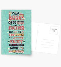 Read Books Postkarten