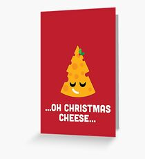Christmas Cheese Puns.Cheese Greeting Cards Redbubble
