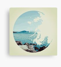 Ocean & Earth Canvas Print