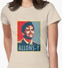 ALLONS-Y Women's Fitted T-Shirt