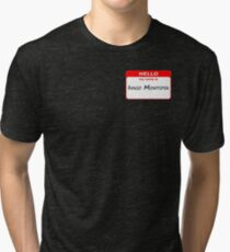 Hello, My Name Is Inigo Montoya - Red Tri-blend T-Shirt