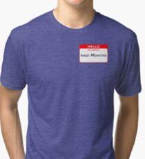 Hello, My Name Is Inigo Montoya - Red Tri-blend T-Shirt