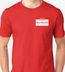 Hello, My Name Is Inigo Montoya - Red T-Shirt