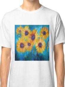 Impressionistic Sunflowers Classic T-Shirt