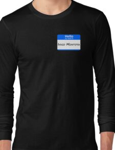 Hello, My Name Is Inigo Montoya - Blue Long Sleeve T-Shirt