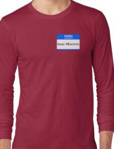 Hello, My Name Is Inigo Montoya - Blue Long Sleeve T-Shirt