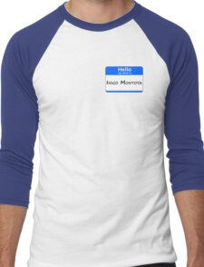 Hello, My Name Is Inigo Montoya - Blue Men's Baseball ¾ T-Shirt