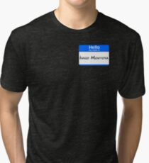 Hello, My Name Is Inigo Montoya - Blue Tri-blend T-Shirt