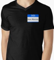 Hello, My Name Is Inigo Montoya - Blue Men's V-Neck T-Shirt