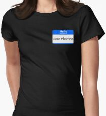 Hello, My Name Is Inigo Montoya - Blue Women's Fitted T-Shirt