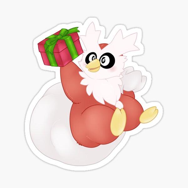 Delibird gift Sticker